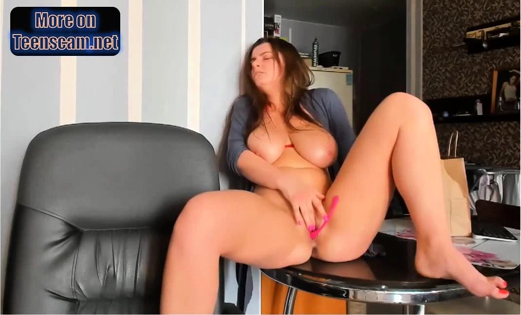 waterfall squirts sexy ukrainian boobs