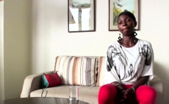 Kenyan Amateur Tries Big Dick On Casting