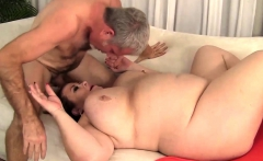 BBW Lady Lynn Tit Fucks and Screws a Guy