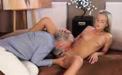 OLD4K. Nice cock of old teacher was main target for...