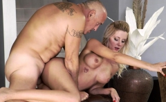 OLD4K. Bald daddy actively drills big-boobied mistress...