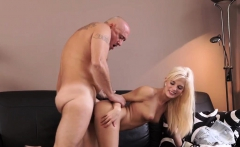 Old man young girl rimming and Horny blonde wants to attempt