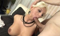 Fat dick surprises a blonde girl