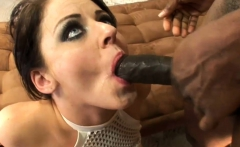 Brunette Sophie Dee gets anal sex from BBC dude