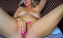 Big Boobs Slut Masturbating Until Orgasm