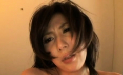 Needy asian woman astounding nudity and solo action