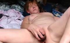 Grandma Kelly 59 cums like a vulcano