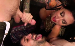 Horny Gay Hunk Gets Strap On Fucking And Cumshot