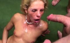 skinny german extreme big cock anal gangbanged