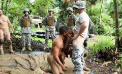 Male soldiers fucking glory holes and military medical inspe