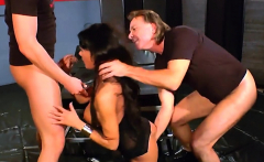 Busty anna gets gangbang with cums and bukkakes