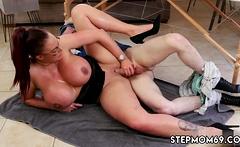 Pussy hardcore Big Tit Step-Mom Gets a Massage