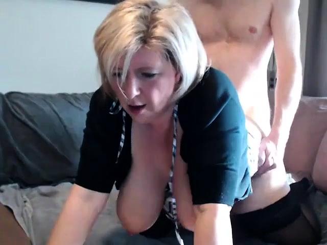 schone blonde frau, big boobs