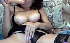 Sandra Sanchez fingering her beaver in solo masturbation