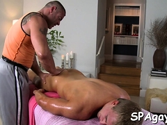 Sexy Twink Is Getting His Hard Schlong Sucked By Gay