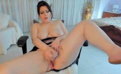 Big Boobs Milf Model Plays Her Pussy