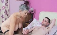 Lady Savana is an oldie woman who bangs Jimi until he cums