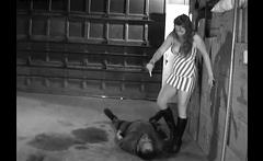 Mistress Katja's Humiliation of a Slave