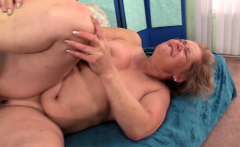 Granny Kelly Leigh Sates Her Desires
