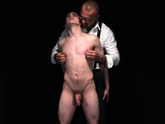 Daddy Plays With Young Boy Slave! Domination Of Teen Twink