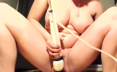Wrecking Her Pussy For Life With a XXXL Dragon Dildo