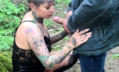 MyDirtyHobby -Mature German publicly creampied by random guy