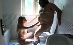 Amateur Russian big boobs handjob