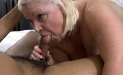 Titfucking busty gran Lacey Starr