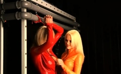 Latex Femdom BDSM for Guy