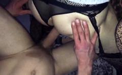 Cd gets fucked bare back cream pie