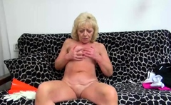 Horny granny loves a big cock in her wet pussy