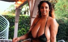 Tiffany Stacks Fat Big Boobs Ebony Pleasing A Big Black Dong