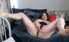 Voluptuous Brunette And Her Sensual Performance Live