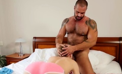 BRINGMEABOY Bruno Turbo Fucks Slutty Stepson After Shower