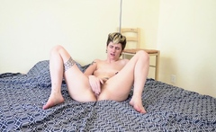 Mercy West Solo Masturbation