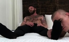 Young boy foot gay sex Derek Parker's Socks and Feet Worship
