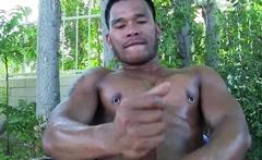 PETERFEVER Tattooed Asian Trevor Northman Jerks Off Solo