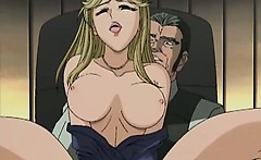 Amazing anime babes suck stiff dick