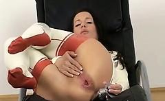 Kinky Chick Pantyhose BDSM Sex